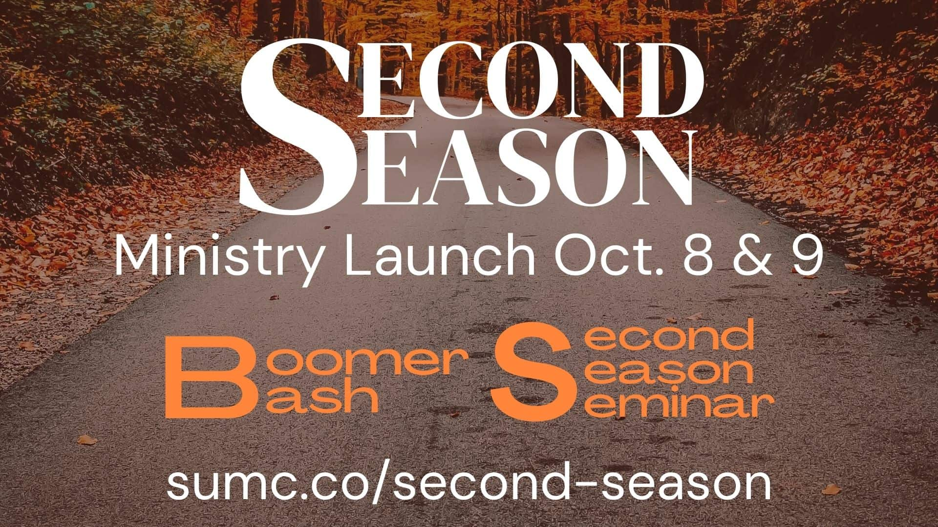 Promotional Graphic for Second Season Kick Off Event