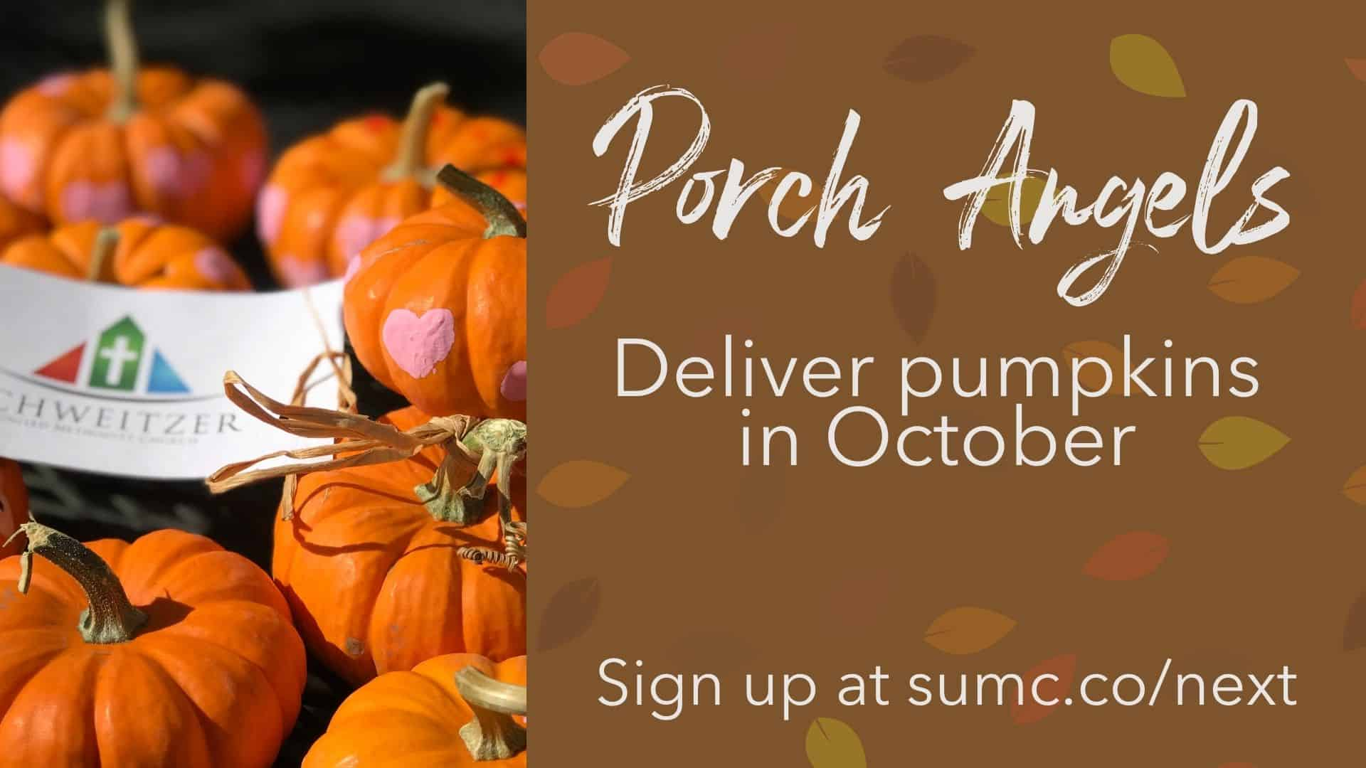 """Featured image for """"October Porch Angel"""""""