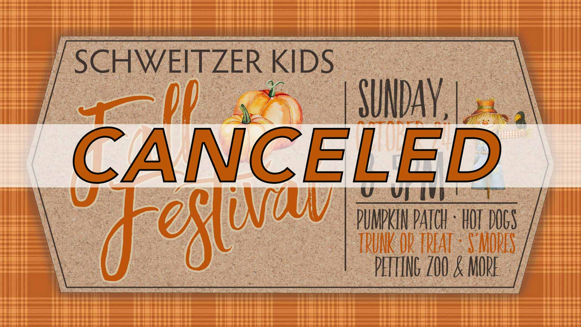 Promotional Graphic for Oct 24 Fall Festival